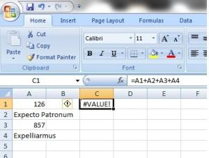 Sum add vs sum 1